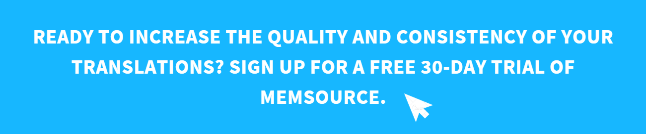 Memsource 30 day free trial